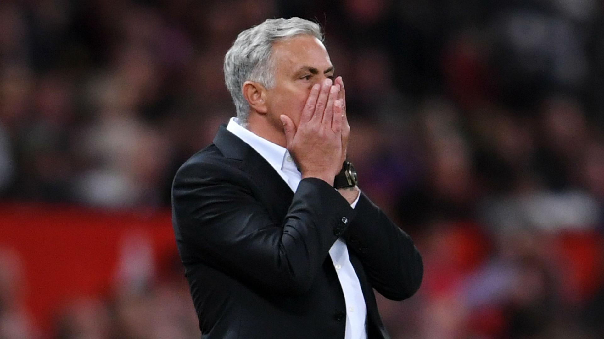 Jose Mourinho Manchester United 100818