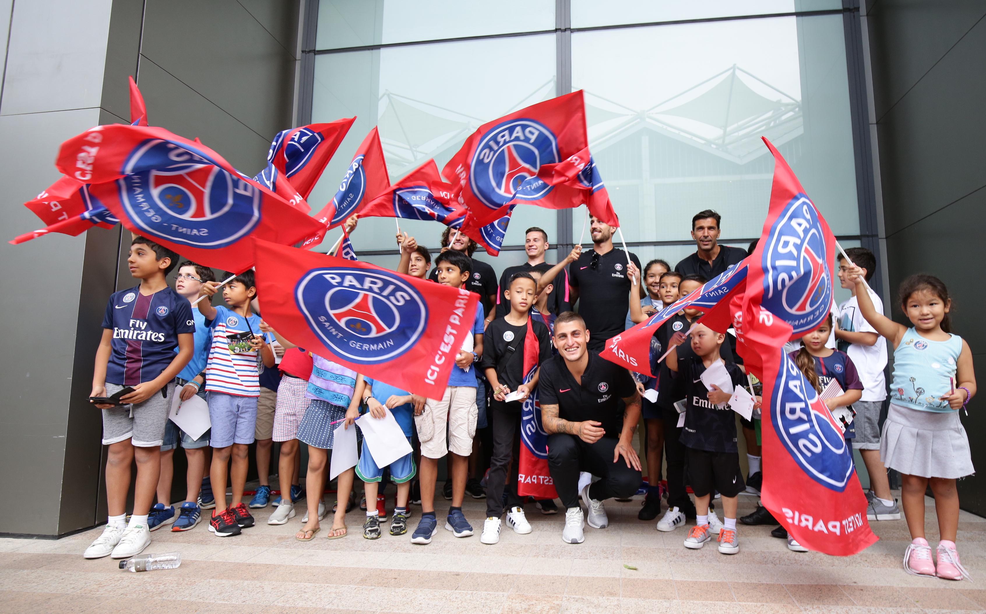PSG arrival