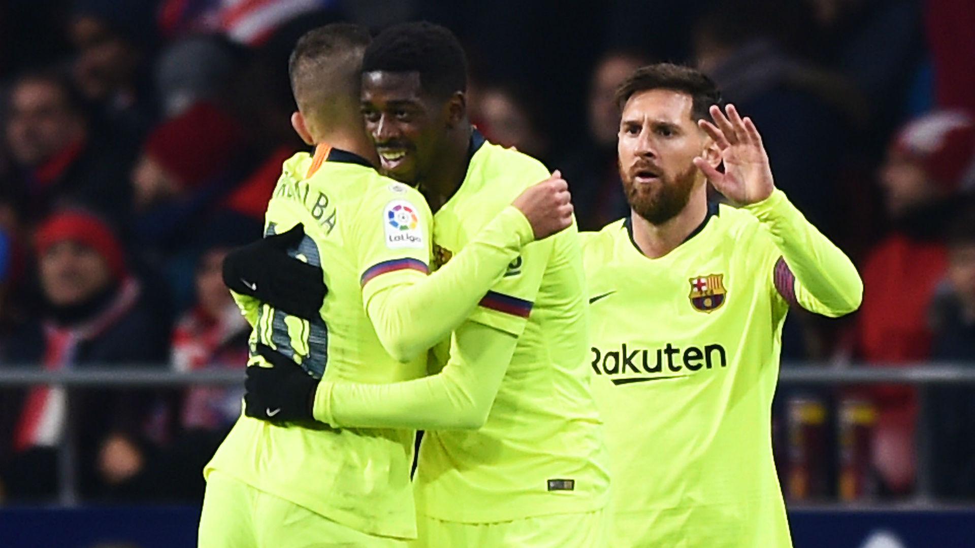 Ousmane Dembele Barcelona Atletico Madrid La Liga 24112018