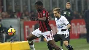 Franck Kessiè Alejandro Gomez Milan Atalanta Serie A