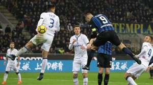 Mauro Icardi scores Inter Atalanta