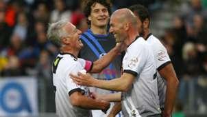 2018-06-01 Zinedine Zidane Didier Deschamps