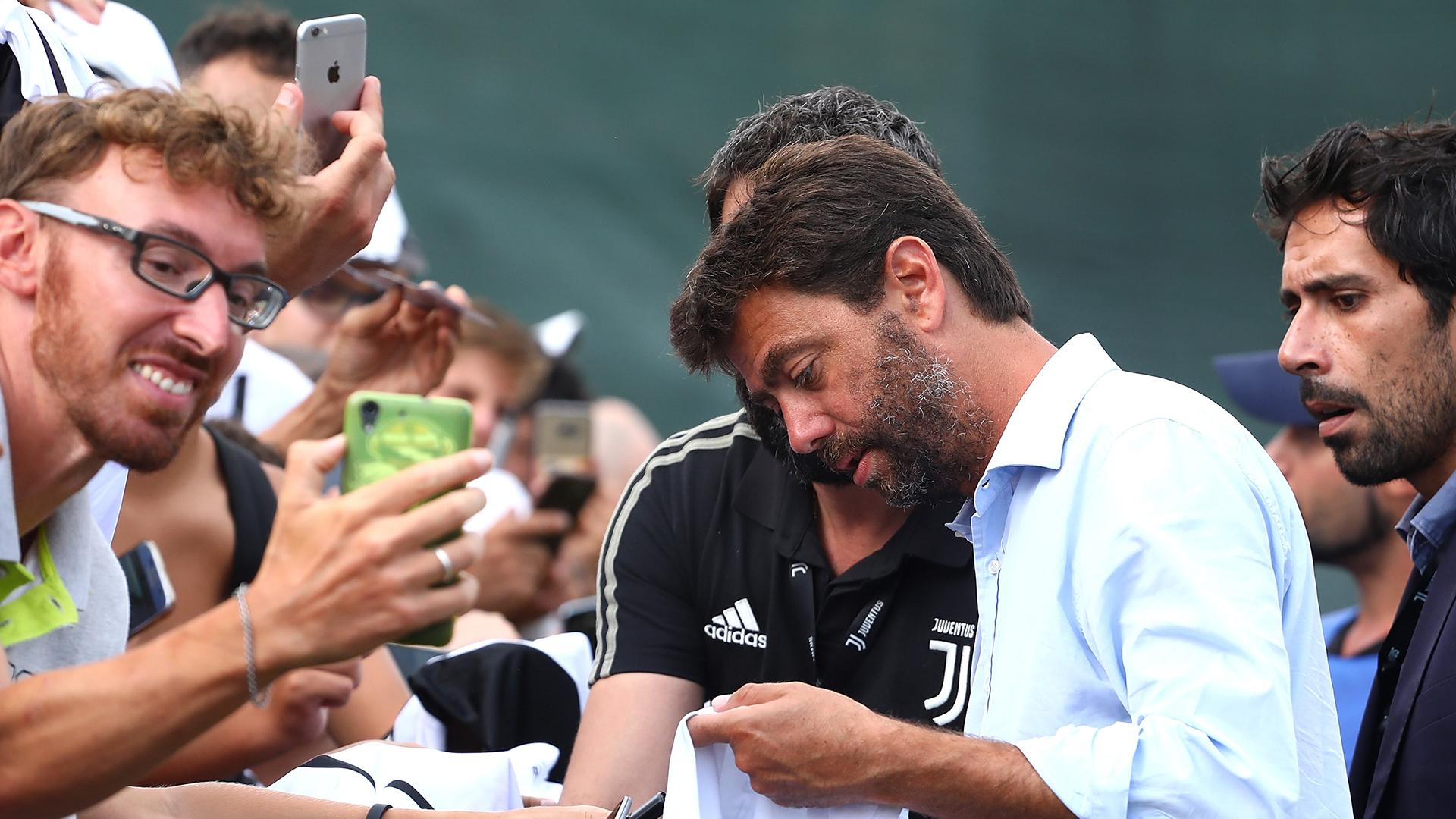 Andrea Agnelli Juventus fans