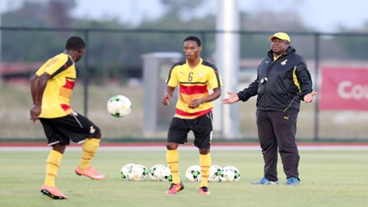 Ghana U17 training