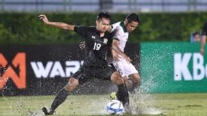 Sittichok Kannoo Thailand U-22 - Evan Dimas Darmono Indonesia U-22