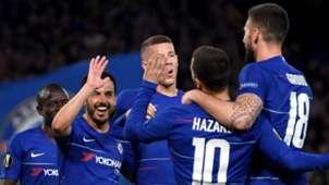 Chelsea celebration against Slavia Prague