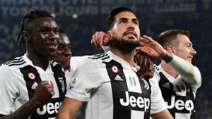 Emre Can Moise Kean Juventus Serie A 2019