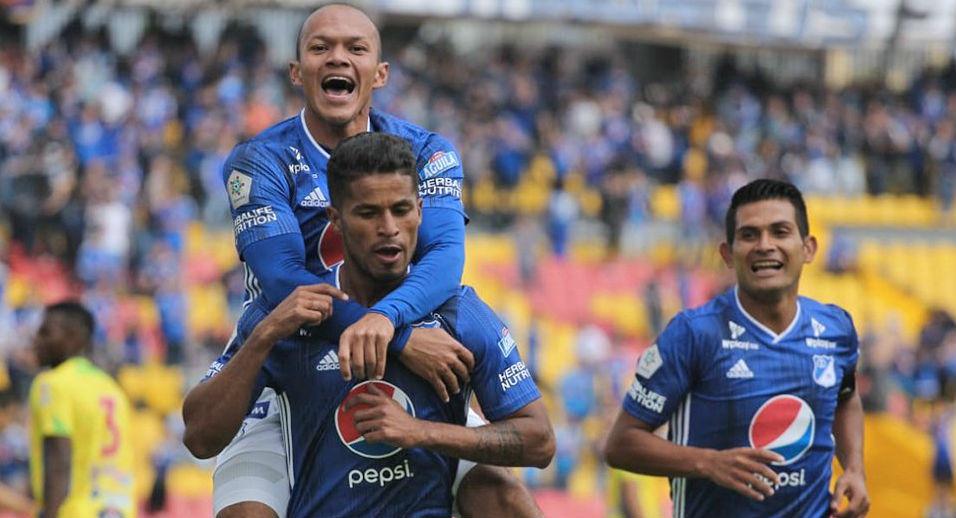 Millonarios gol Liga Águila 2019-I