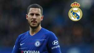Eden Hazard con la camiseta del Chelsea.