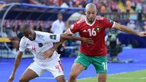 Nordin Amrabat Morocco 2019