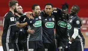 Memphis Depay Kenny Tete Monaco Lyon Coupe de France 24012018