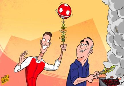 Mesut Ozil chef