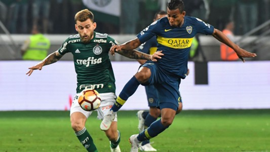 Lucas Lima Villa Palmeiras Boca Copa Libertadores 31102018