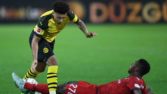 David Alaba Jadon Sancho Dortmund Bayern 10112018