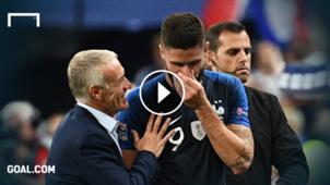 Olivier Giroud Didier Deschamps GFC