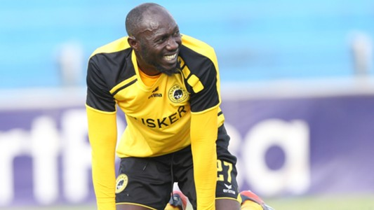 Stephen Owusu of Tusker v AFC Leopards