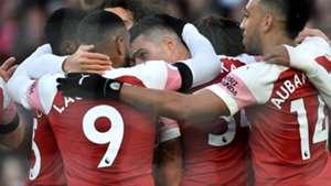 Arsenal celebrate 2018-19