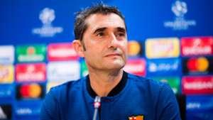 Ernesto Valverde FC Barcelona Champions League