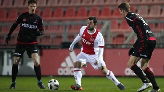 Amin Younes, Jong Ajax - Helmond Sport, 05022018, Jupiler League