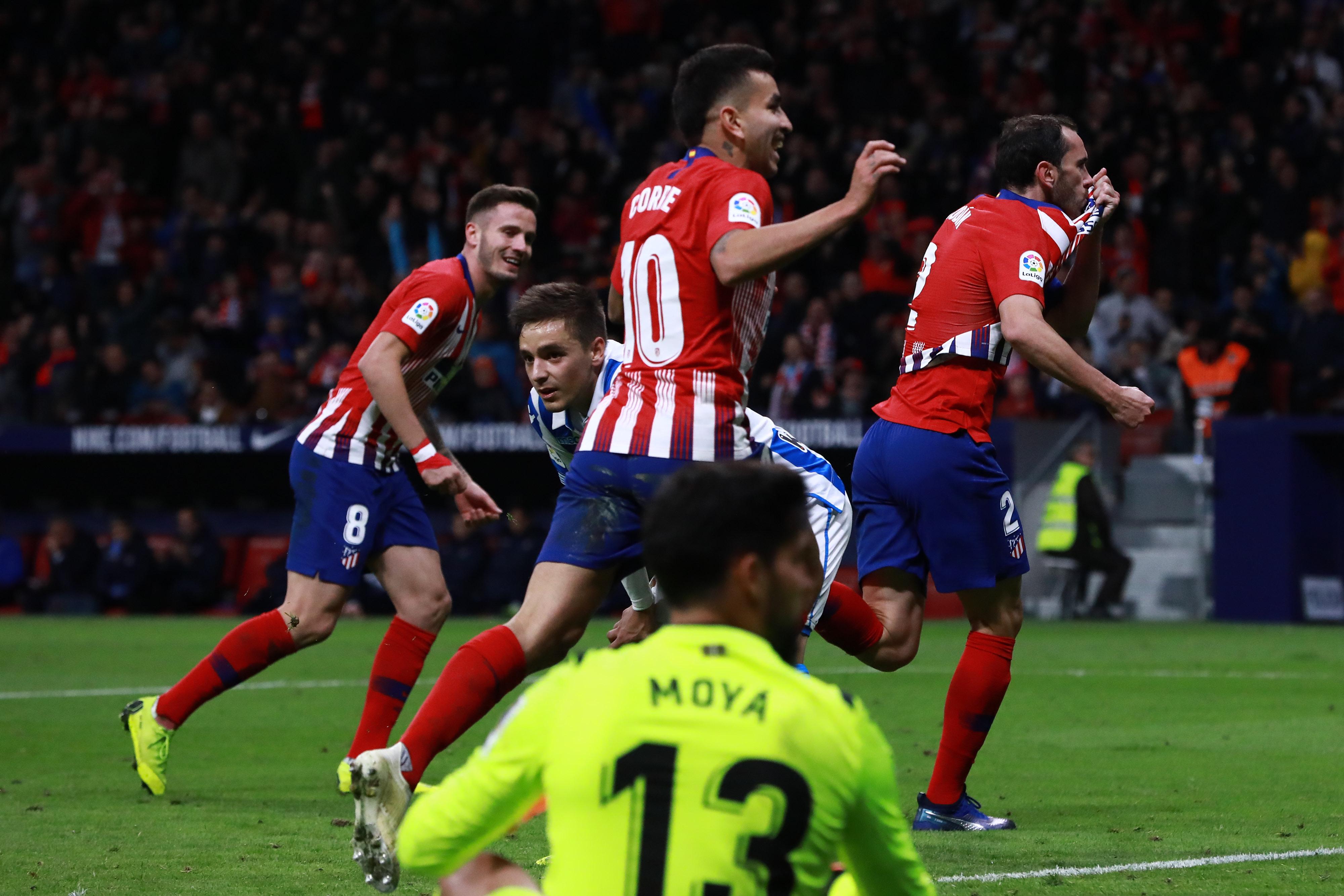 Atlético de Madrid gana, y es nuevo líder en España