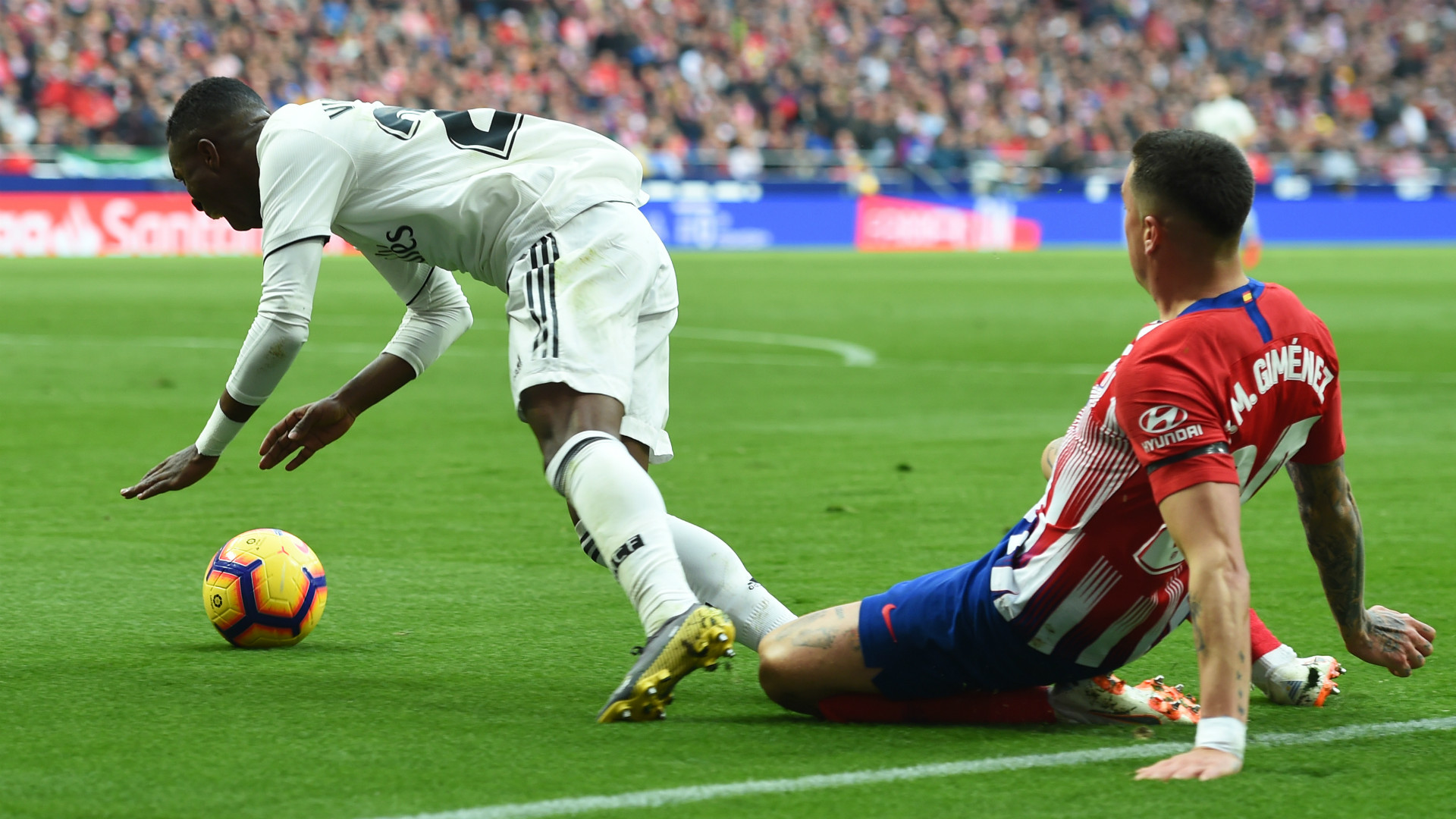 Vinicius Gimenez Atletico Madrid Real Madrid LaLiga