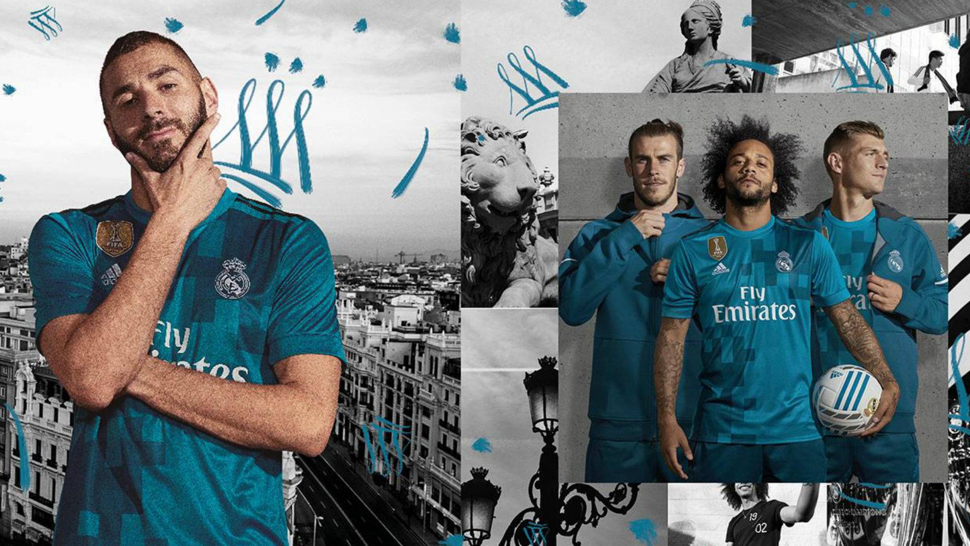 Real Madrid 3ª shirt