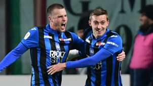 Atalanta celebrate vs Juventus