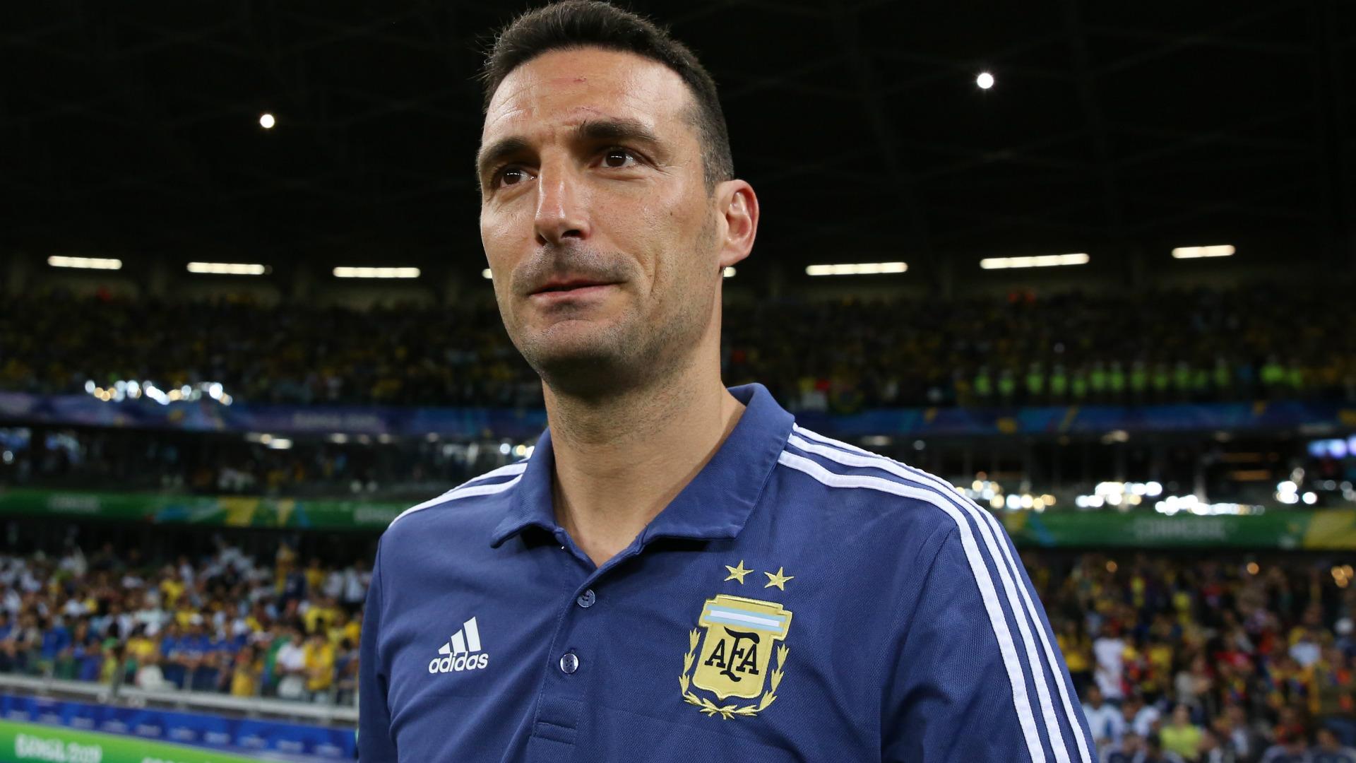 Scaloni Brazil Argentina Copa America 02072019