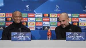 2018-02-27-Manchester City-Vincent Kompany-Pep Guardiola