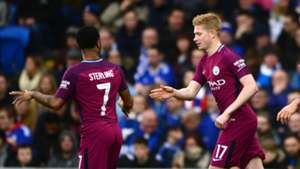 Sterling, De Bruyne, Man City