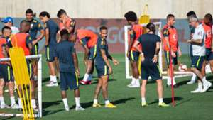 Neymar Brasil treino 05092018