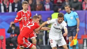 Joshua Kimmich Franco Vazquez Sevilla Bayern Munich UCL 03042018