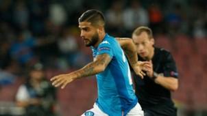 Lorenzo Insigne, Napoli, Feyenoord, UEFA Champions League, 26092017