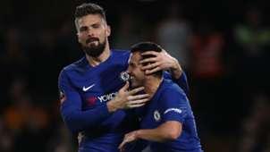 FC Chelsea Olivier Giroud Pedro 16022018