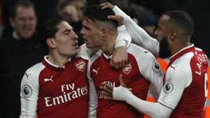 Granit Xhaka Arsenal Liverpool