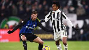 Davide Santon, Juan Cuadrado, Juventus, Inter, Serie A, 09122017