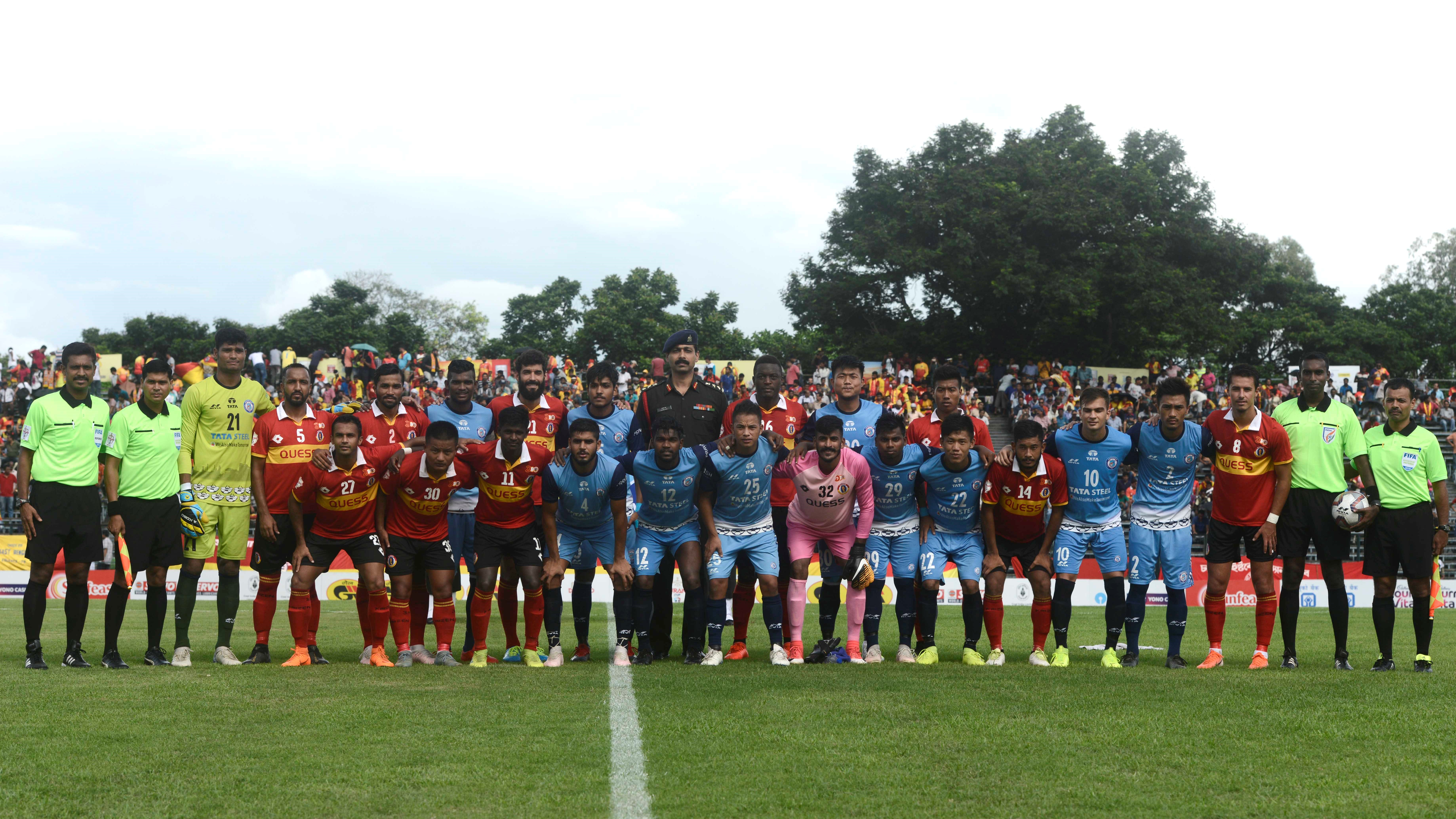 East Bengal Jamshedpur FC Reserves Durand Cup 2019