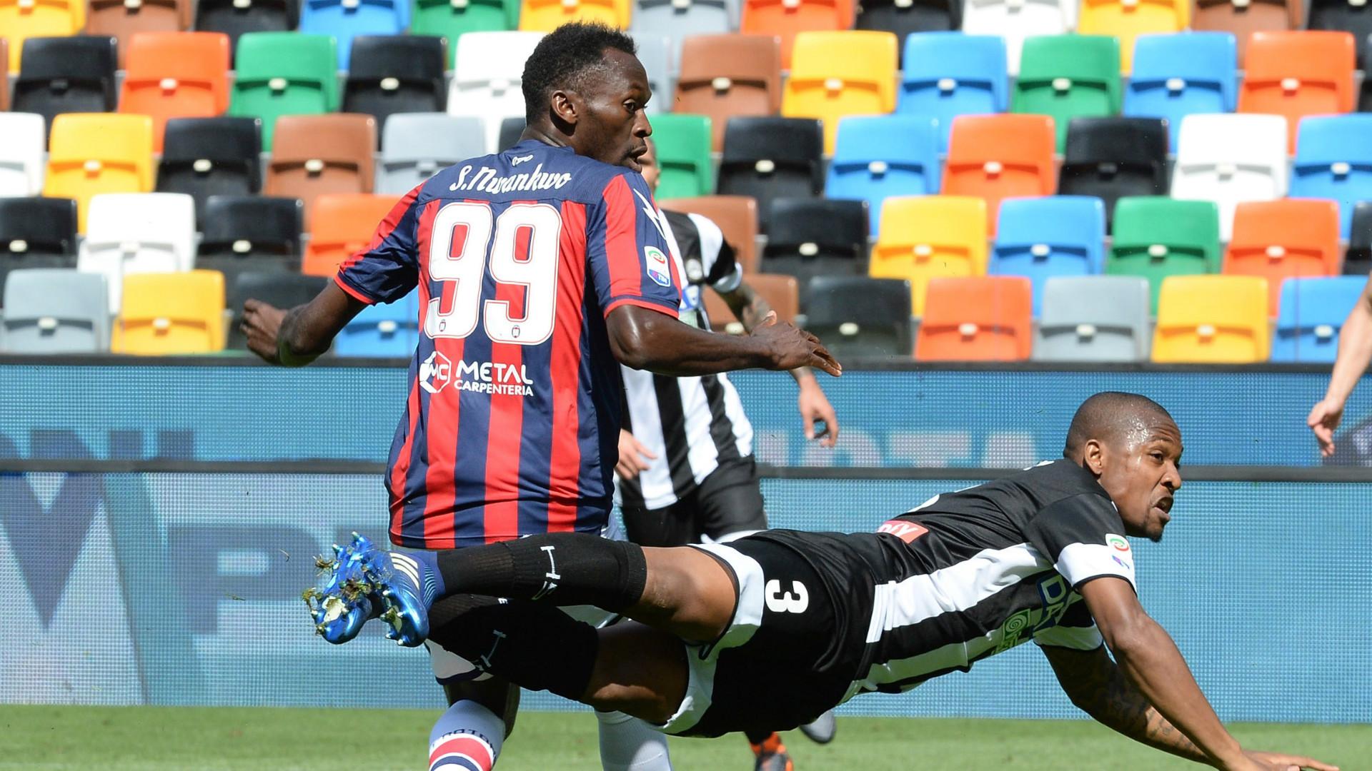 Simy, Samir, Udinese, Crotone, Serie A, 22042018