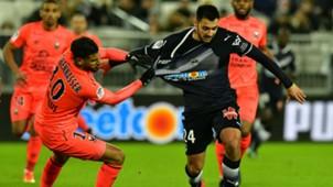 Gaetan Laborde  Youssef Ait Benasser Bordeaux Caen Ligue 1 18012018