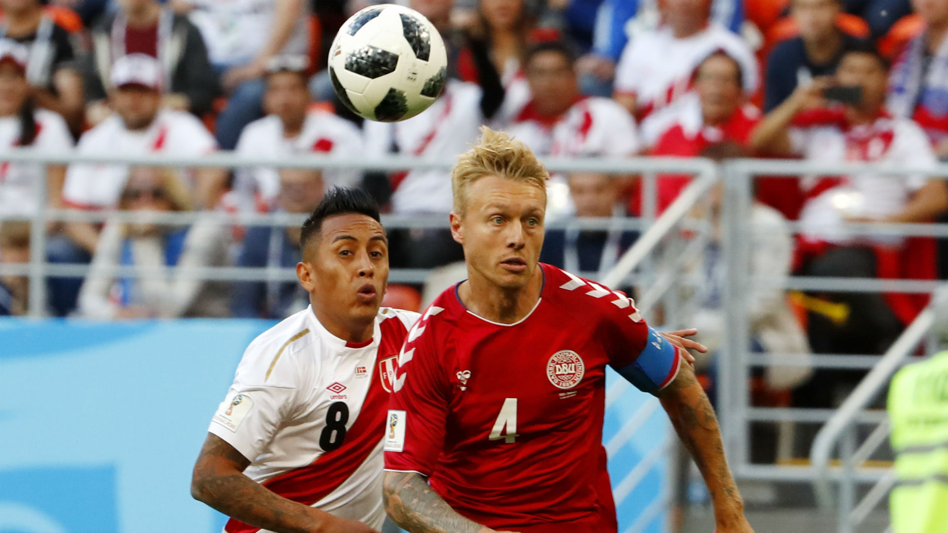 Christian Cueva Peru Denmark Dinamarca World Cup Mundial 2018