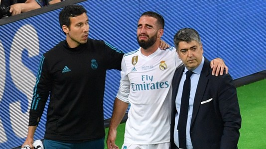 Dani Carvajal Real Madrid Liverpool Champions League 2018