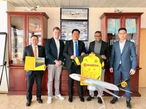 Dortmund Mongolian airlines