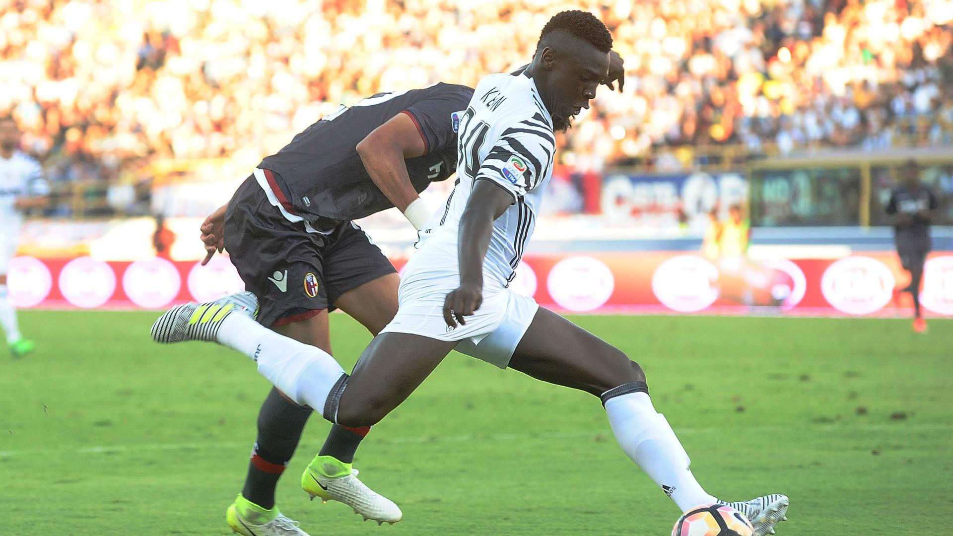 Juventus, contatti tra il Verona e l'entourage di Kean