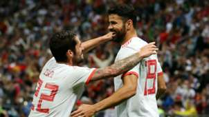 Diego Costa Isco Spain World Cup
