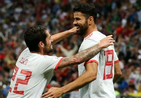 Diego Costa újra betalált: Spanyolország tartja a lépést a portugálokkal