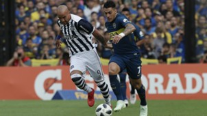 Cristian Pavon Junior Arias Boca Juniors Talleres Superliga Argentina 01042018