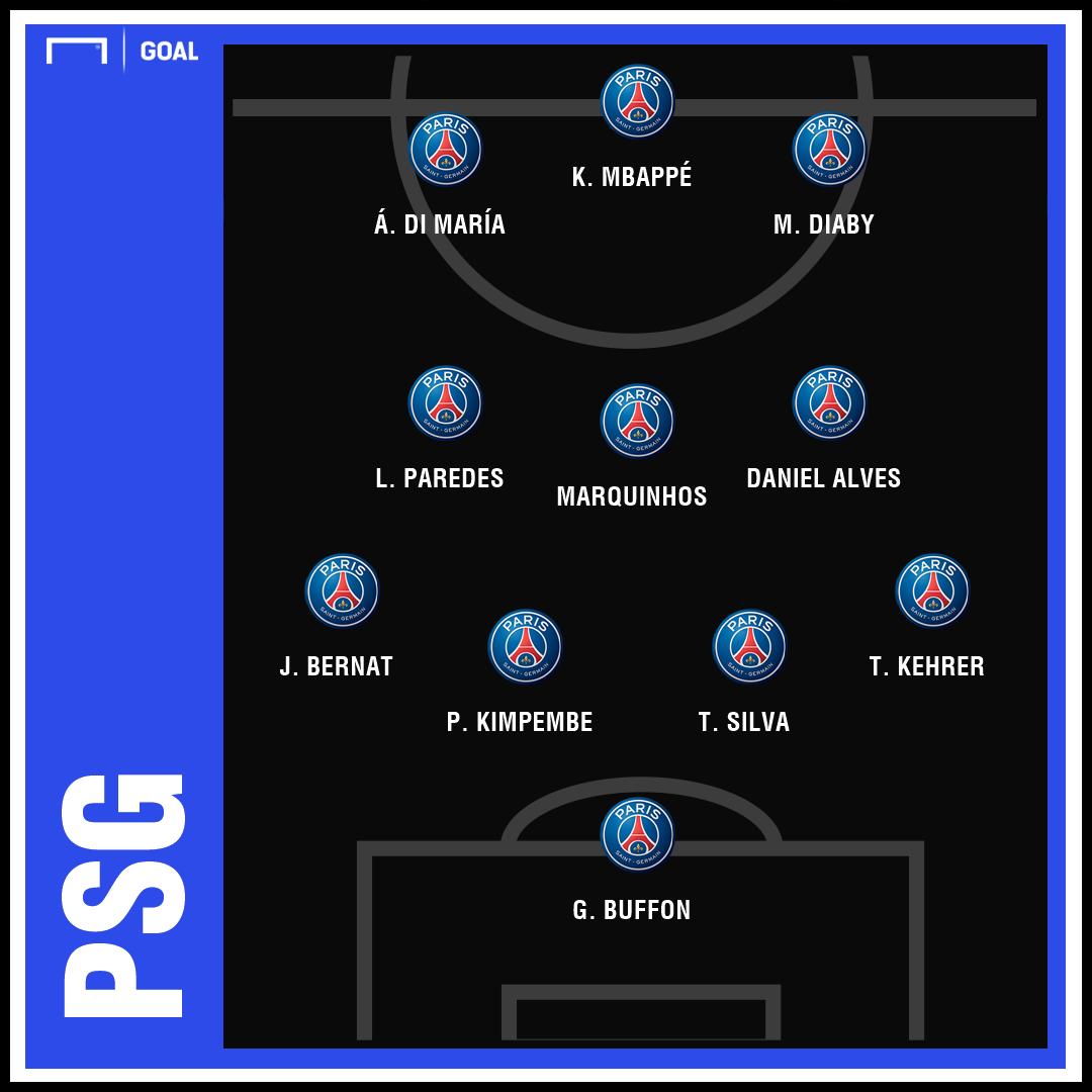 PSG Predicted Saint Ettiene Ligue 1 GFX | 15020219