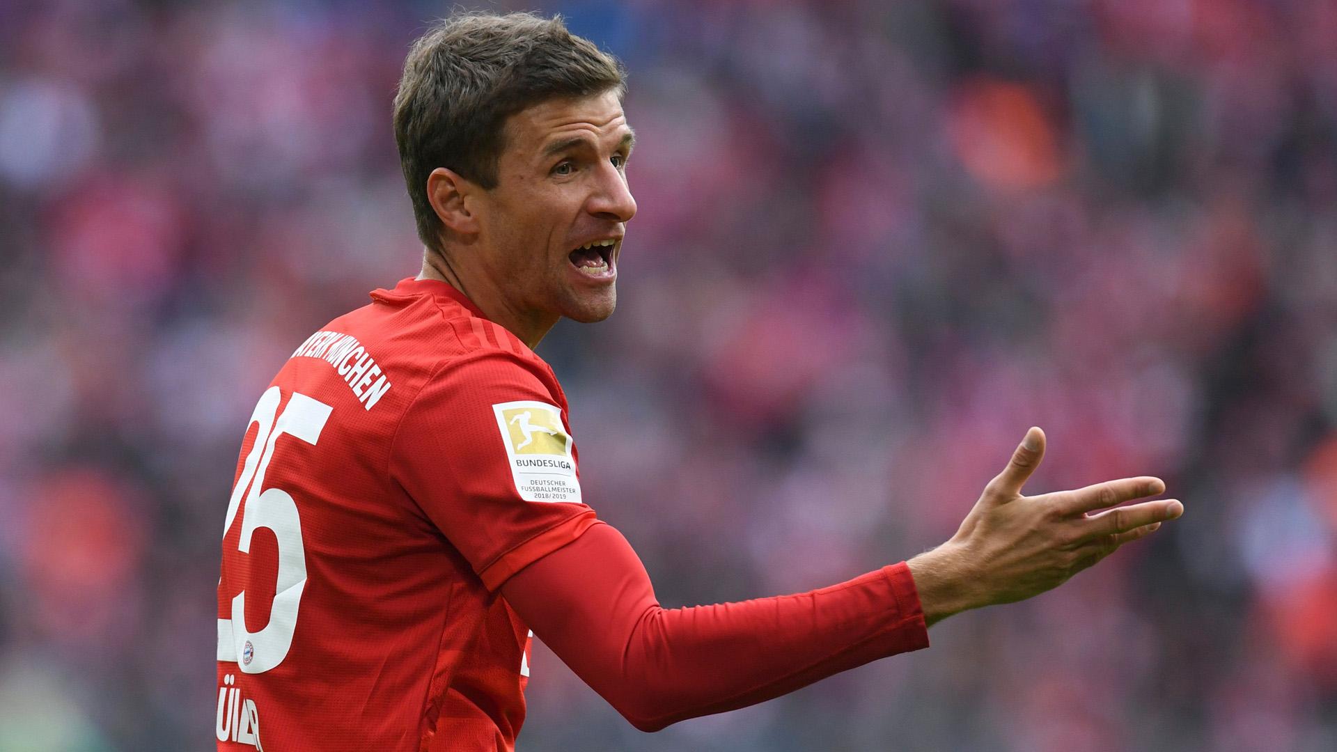 Thomas Müller FC Bayern 05102019