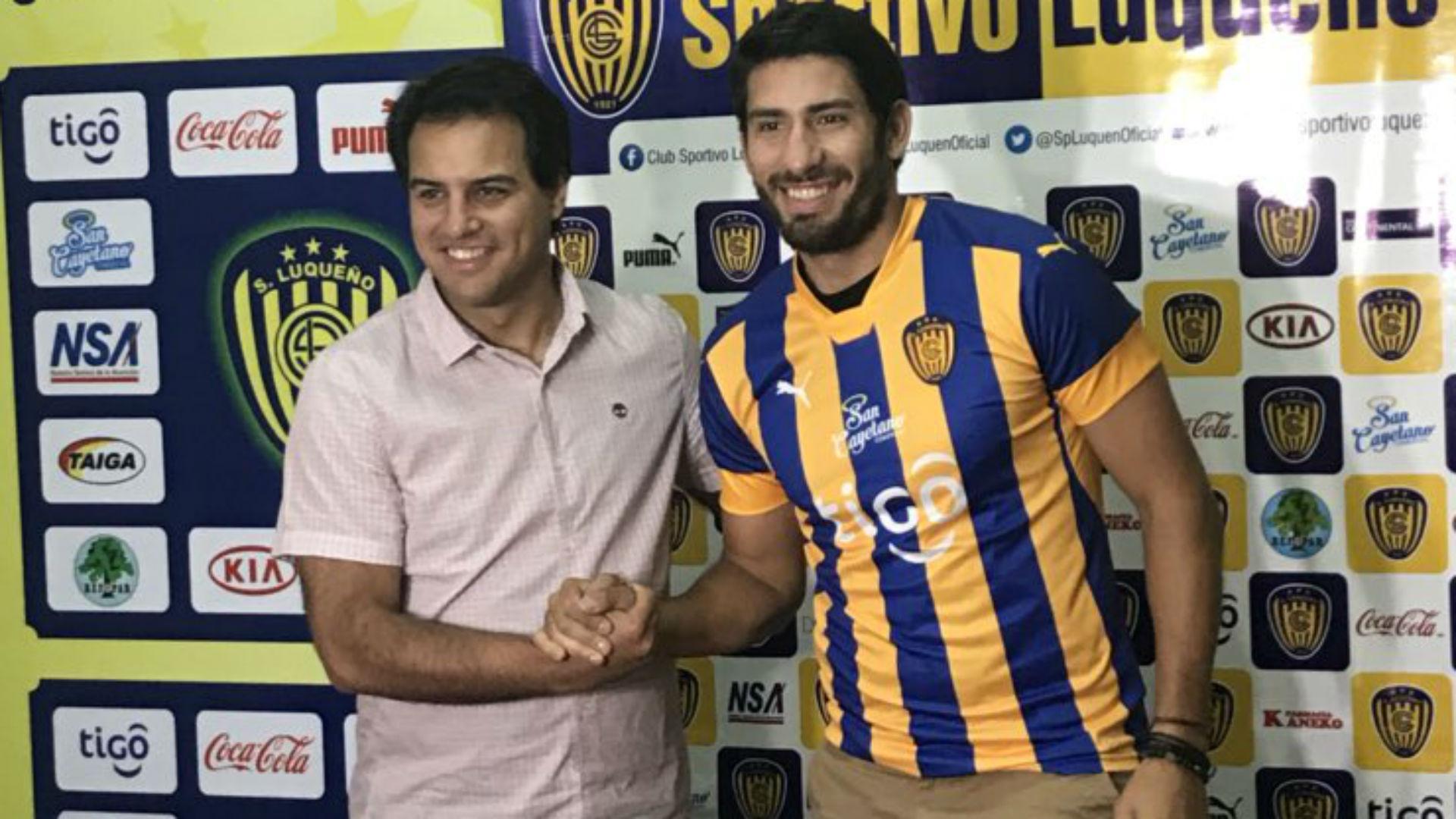 Sebastian D'Angelo dangelo Sportivo Luqueño