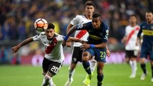 Sebastian Villa Boca Juniors River Plate Copa Libertadores 09122018